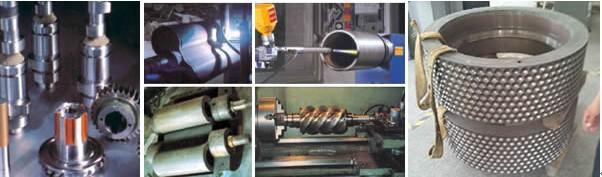 机械制造领域使用热喷涂强化